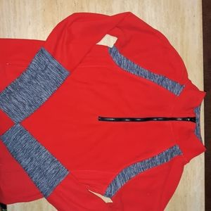Red light warm active jacket (also has zipper)